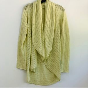Margareth O'Leary Cashmere-Cotton Cocoon Cardigan